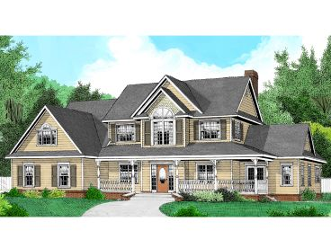 Two-Story House Plan, 044H-0029