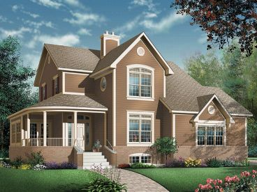 Country House Plan, 027H-0054