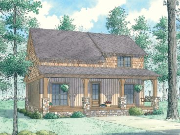 Country House Plan, 074H-0076