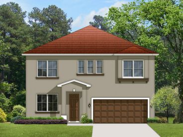 Two-Story Home Design, 064H-0037