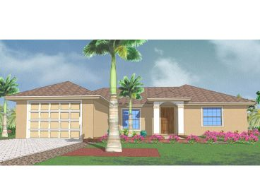 Small House Plan, 070H-0006