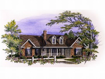 Country Home Plan, 019H-0114