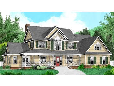 Two-Story House Design, 044H-0025