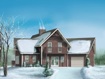 Mountain House Plan, 072H-0013