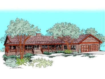 One-Story Home Plan, 013H-0055