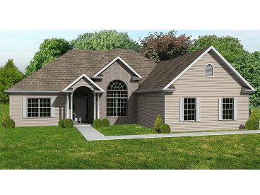 Traditional House Plan, 048H-0028