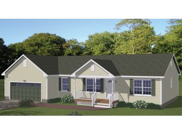 One-Story House Plan, 078H-0037