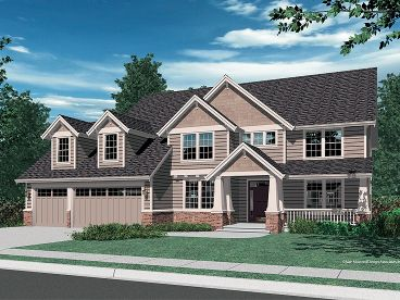2-Story House Design, 034H-0211