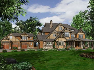 Craftsman House Plan, 035H-0100