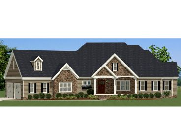Traditional Home Plan, 067H-0006