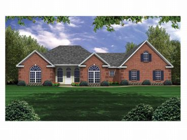 Traditional House Plan, 001H-0103