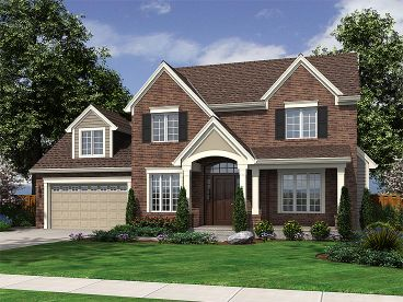 Traditional House Plan, 046H-0010
