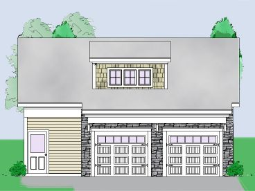 Carriage House Plan, 053G-0023