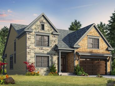 2-Story Home Plan, 031H-0283
