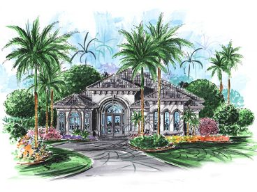 Florida House Plan, 037H-0002