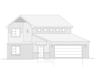 Two-Story House Plan, 062H-0071