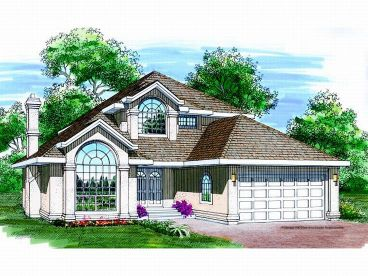 Florida Home Plan, 032H-0041