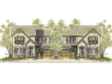 Multi-Family Home Plan, 031M-0064