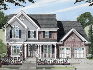 Traditioinal Home Plan, 046H-0125