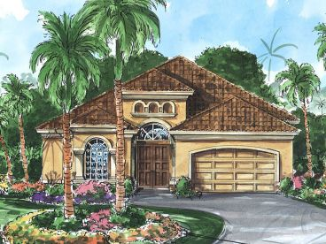 Sunbelt Home Plan, 040H-0046