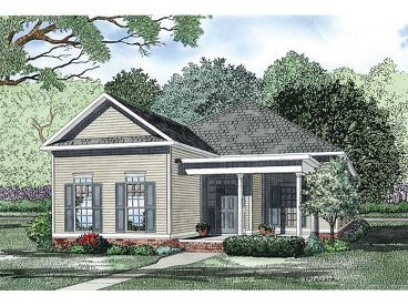 Narrow Lot House Plan, 025H-0236