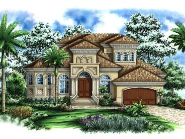 Premier Luxury Home Plan, 037H-0036