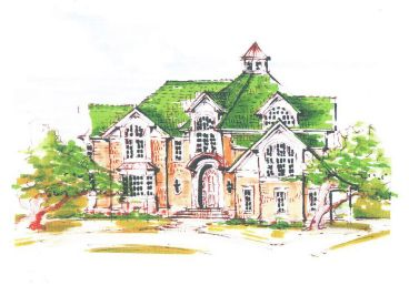 Luxury House Plan, 041H-0054