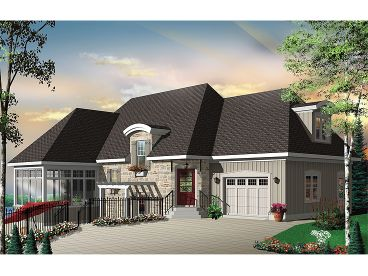 Luxury House Plan, 027H-0160