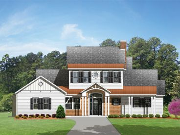 Luxury Home Plan, 064H-0046