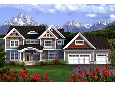Luxury House Plan, 020H-0357