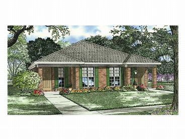 Duplex House Plan, 025M-0044