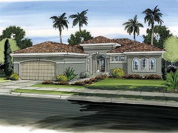 Sunblet House Plan, 050H-0014