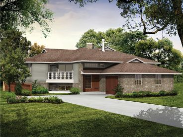 Contemporary House, 032H-0010