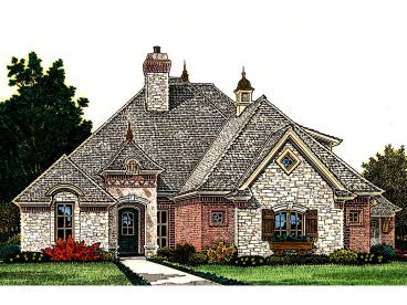 European Home Plan, 002H-0113