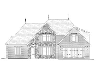 European House Plan, 062H-0051