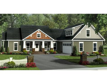 Family House Plan, 001H-0172