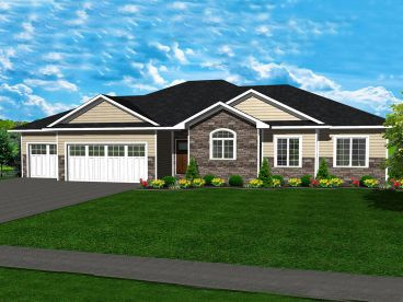 Traditional House Plan, 083H-0004