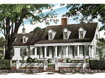 Southern Country Home, 063H-0137