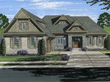 Ranch House Plan, 046H-0142