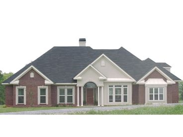 Ranch House Plan Photo, 073H-0023