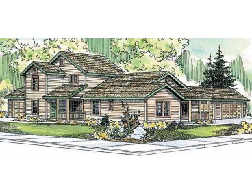 Multi-Family House Plan, 051M-0004
