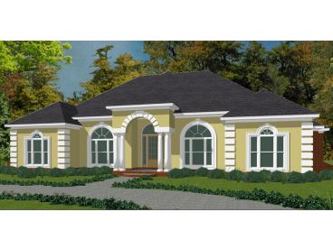 Sunbelt House Plan, 073H-0042