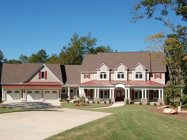 Country House Plan Photo, 019H-0170