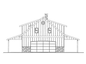 Carriage House Plan, 012G-0063
