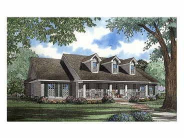Country House Plan, 025H-0073