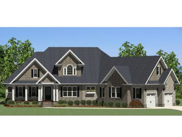 Ranch House Plan, 067H-0018