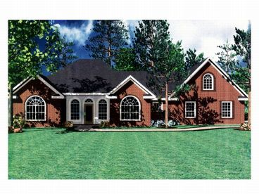 Traditional House Plan, 001H-0068