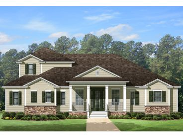 Country House Plan, 064H-0067