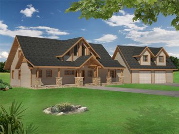 Craftsman House Plan, 012H-0135