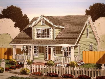 Narrow Lot Bungalow, 059H-0152